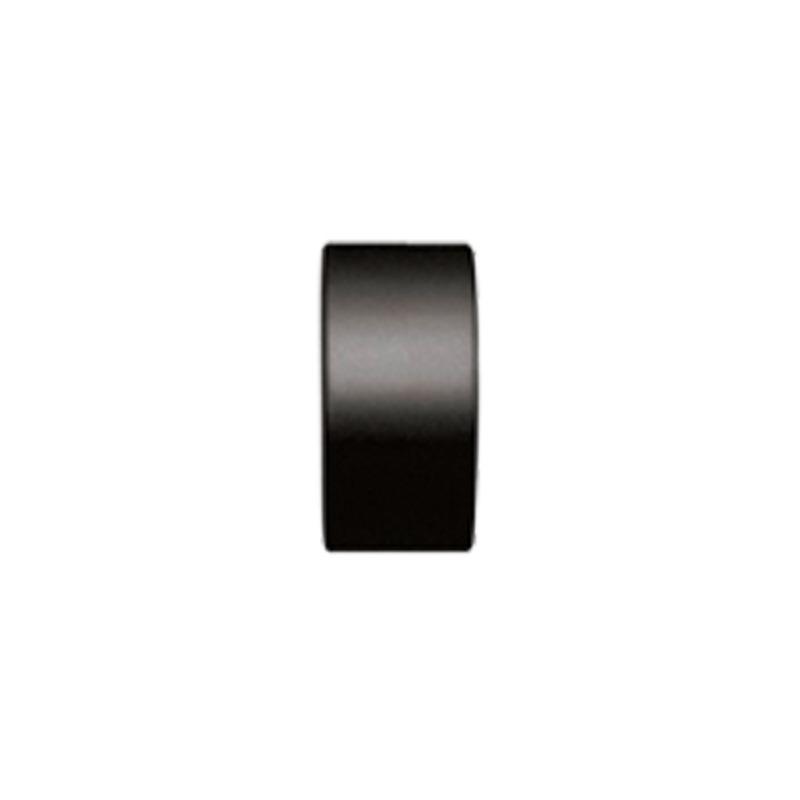 RR Einddop Insteek voor 20mm rail-/ Roede Zwart
