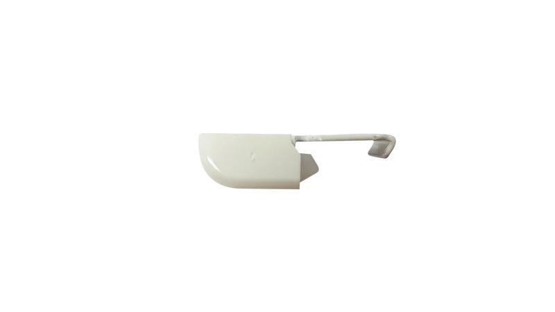 KS-DS smartklick plafondsteun+kap wit