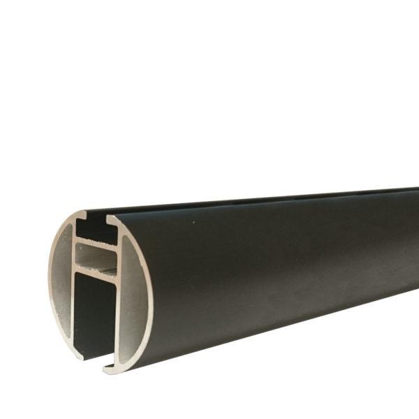 RR 35mm railroede Zwart | Rails en Roedes