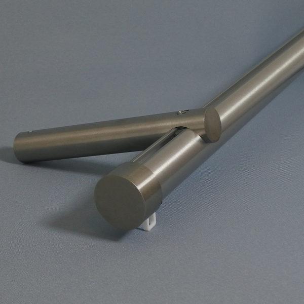 R&R Railroede 28mm - RVS   Rails en Roedes