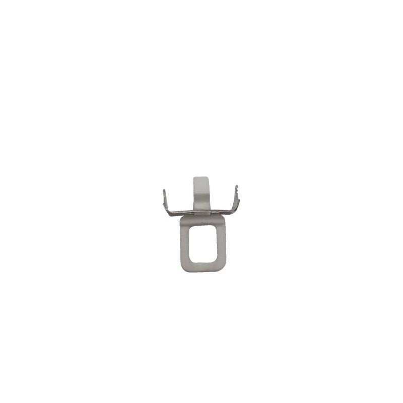 DCS 1164 draai-eindstop breedspoor kunststof metaal wit