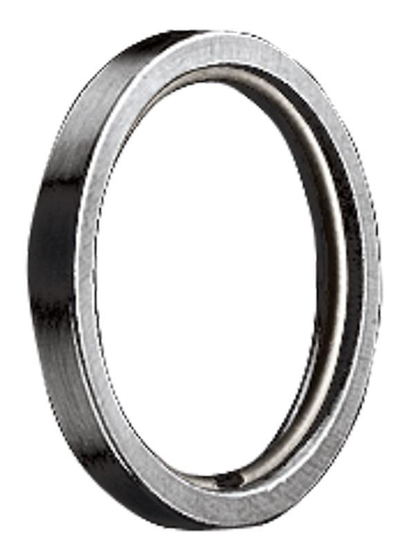 RR Ring met kunststof inleg voor 20mm roede RVS