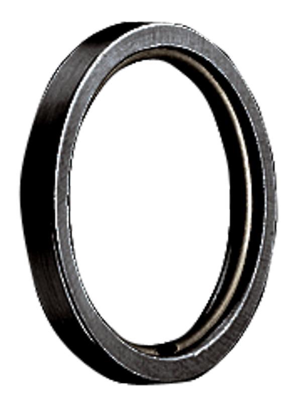 RR Ring met kunststof inleg voor 20mm roede Zwart