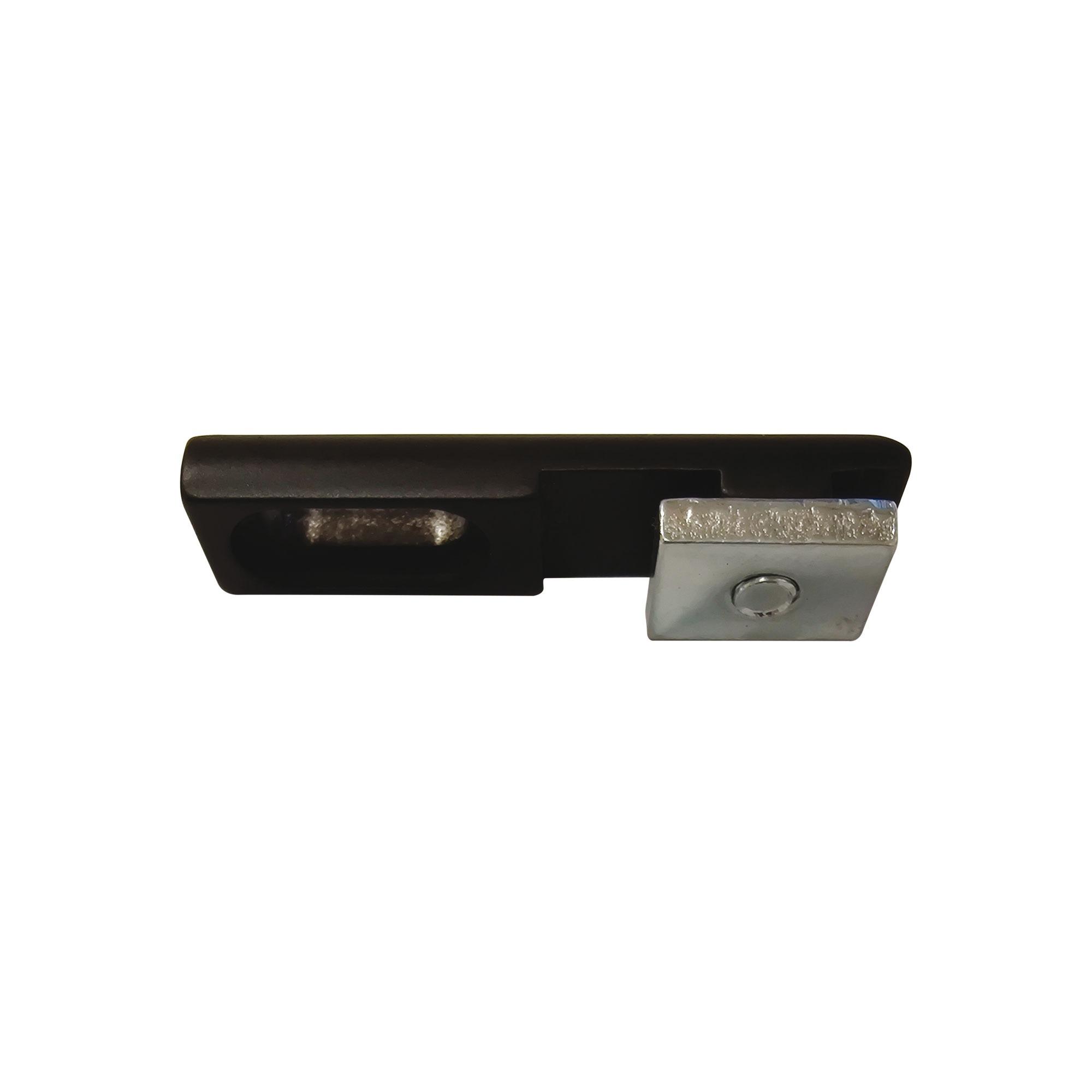 RR plafondsteun vlak voor 20+28+35mm railroede ZWART